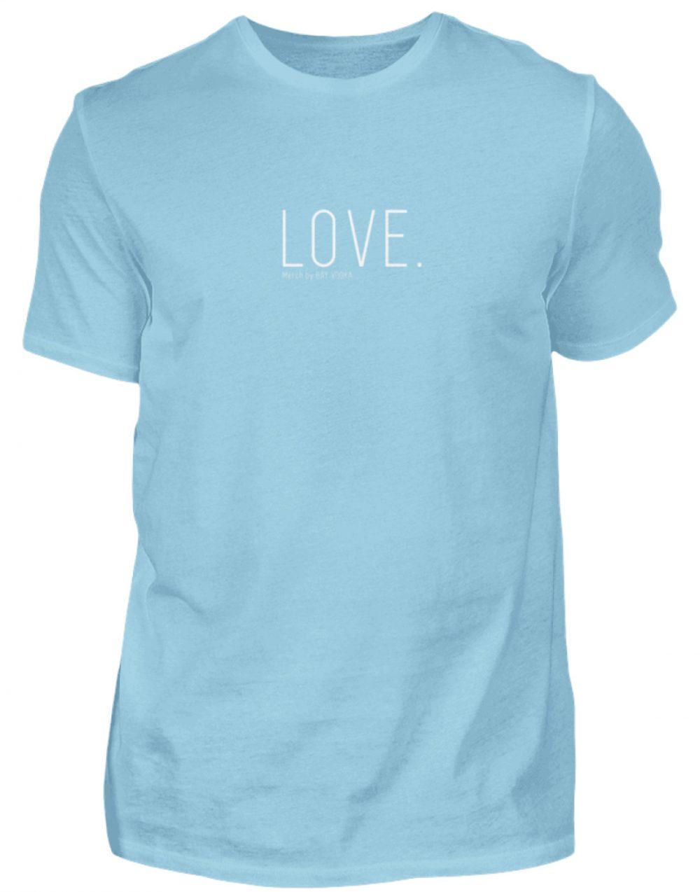LOVE. - Herren Premiumshirt-674