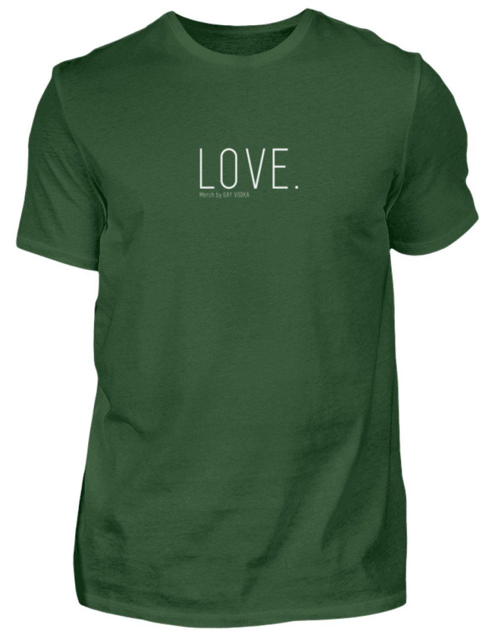 LOVE. - Herren Premiumshirt-2936
