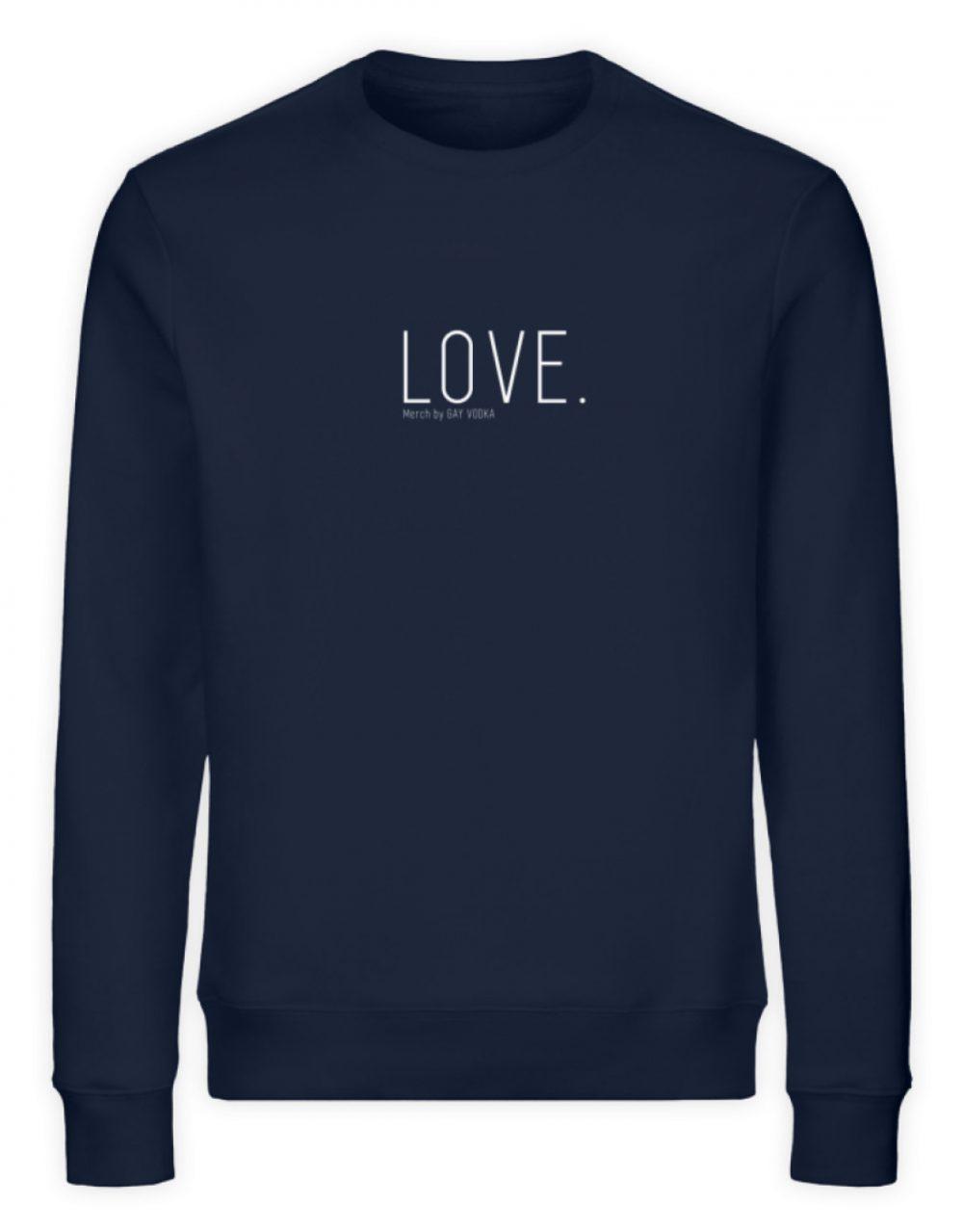 LOVE. - Unisex Organic Sweatshirt-6887