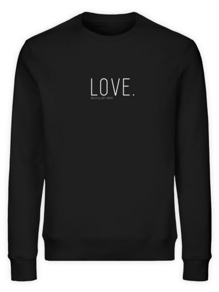 LOVE. - Unisex Organic Sweatshirt-16