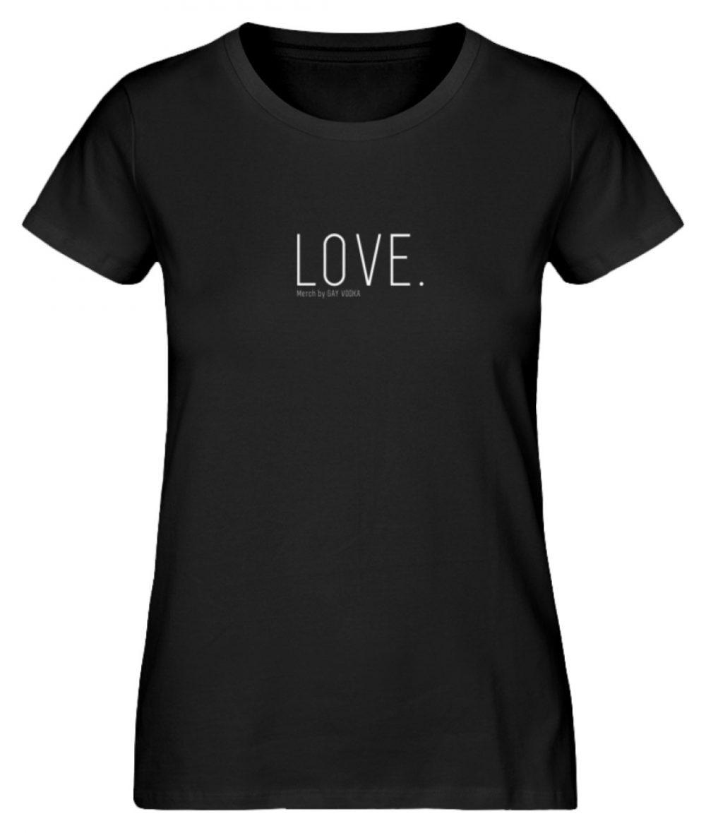LOVE. - Damen Premium Organic Shirt-16