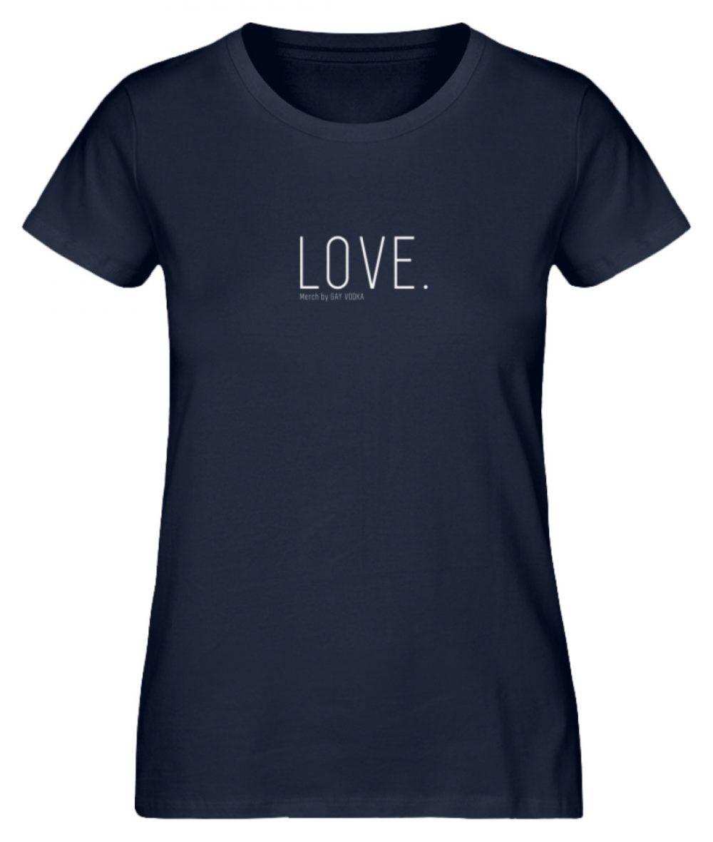 LOVE. - Damen Premium Organic Shirt-6887