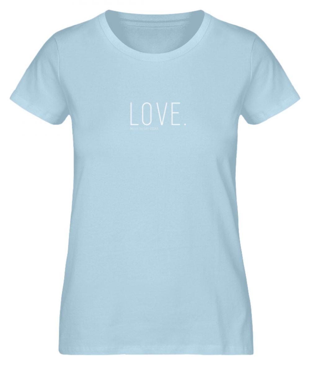 LOVE. - Damen Premium Organic Shirt-6888