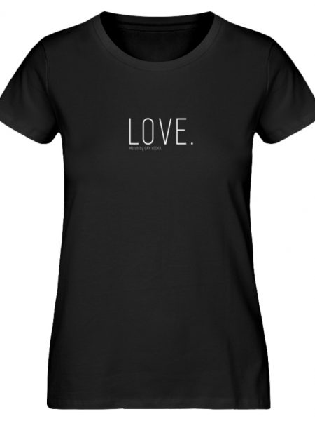 LOVE. - Damen Premium Organic Shirt-16