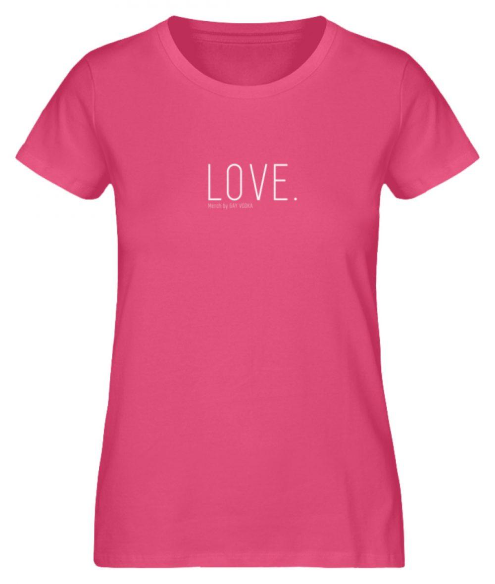 LOVE. - Damen Premium Organic Shirt-6930