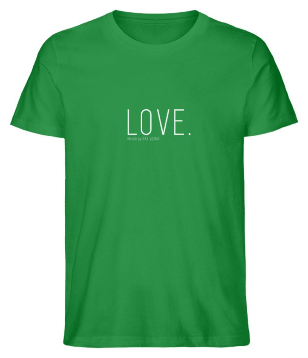 LOVE. - Herren Premium Organic Shirt-6890