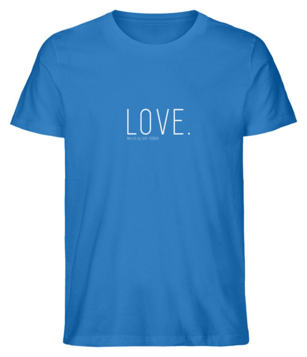 LOVE. - Herren Premium Organic Shirt-6886