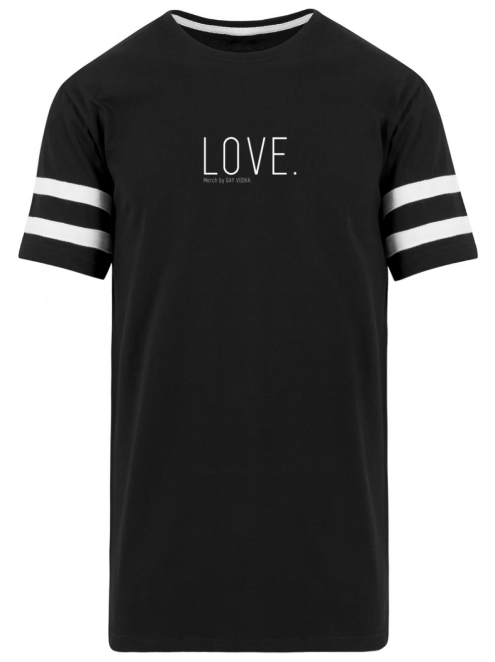 LOVE. - Striped Long Shirt-16