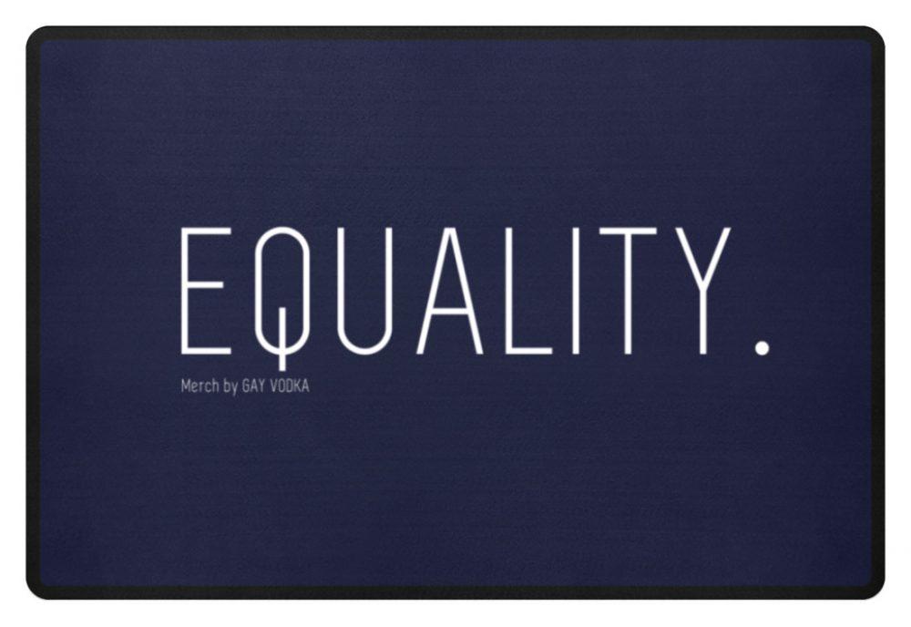 EQUALITY. - Fußmatte-198