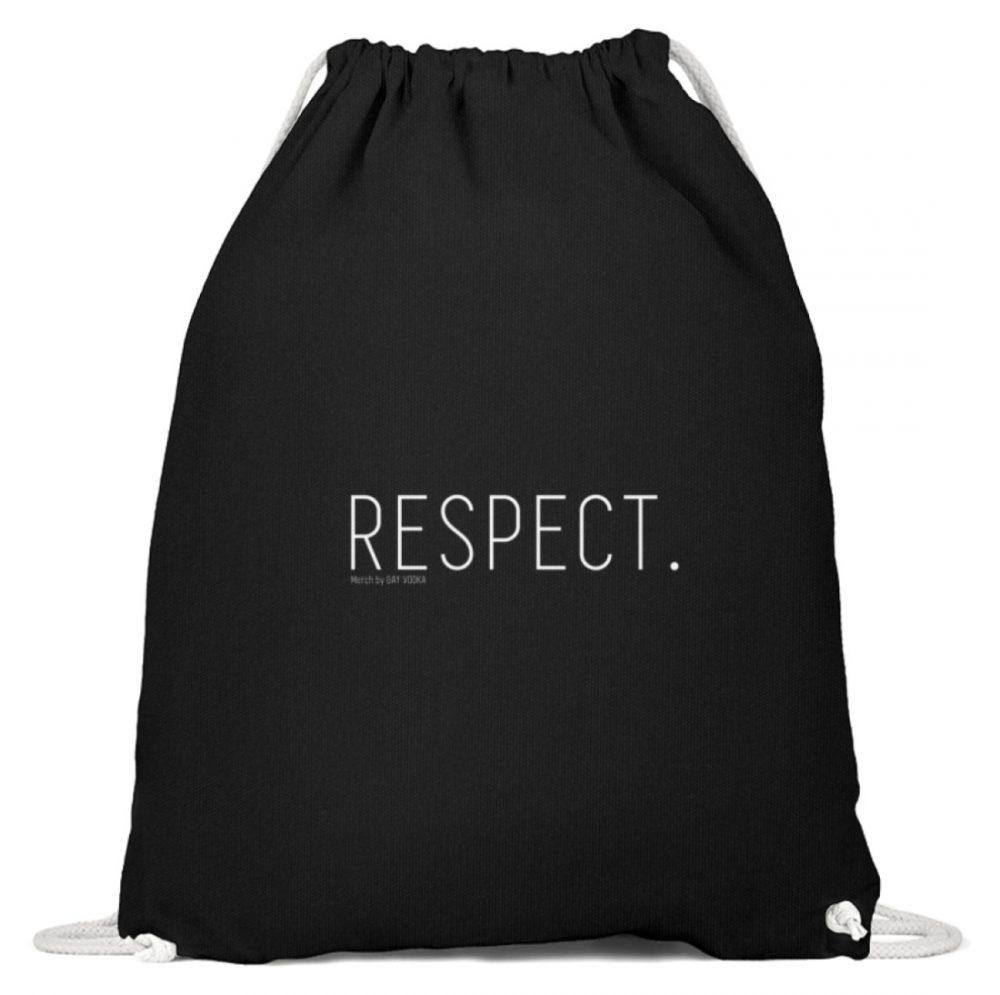 RESPECT. - Baumwoll Gymsac-16