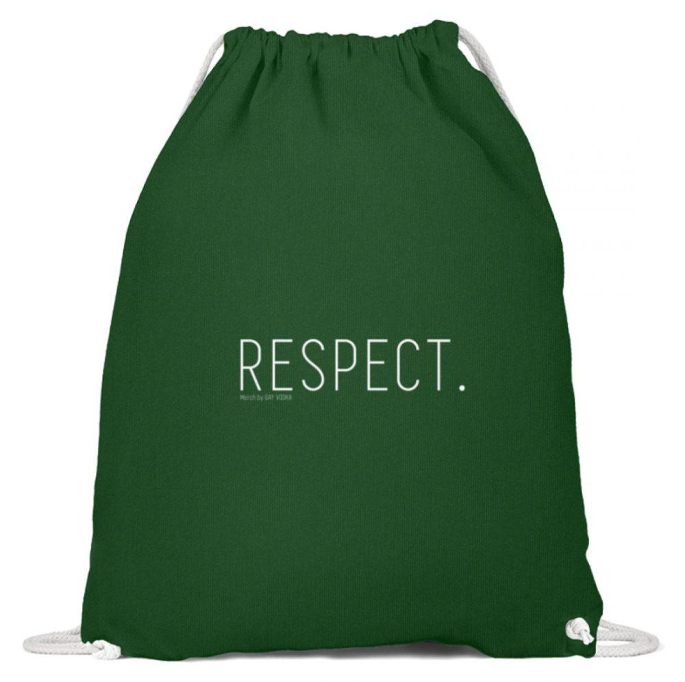 RESPECT. - Baumwoll Gymsac-833