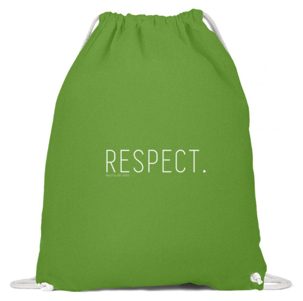 RESPECT. - Baumwoll Gymsac-1646