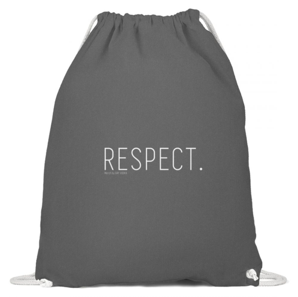 RESPECT. - Baumwoll Gymsac-6760
