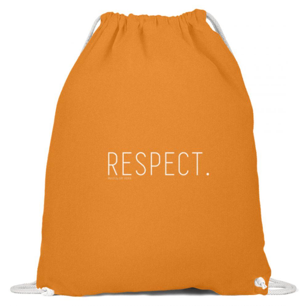 RESPECT. - Baumwoll Gymsac-20