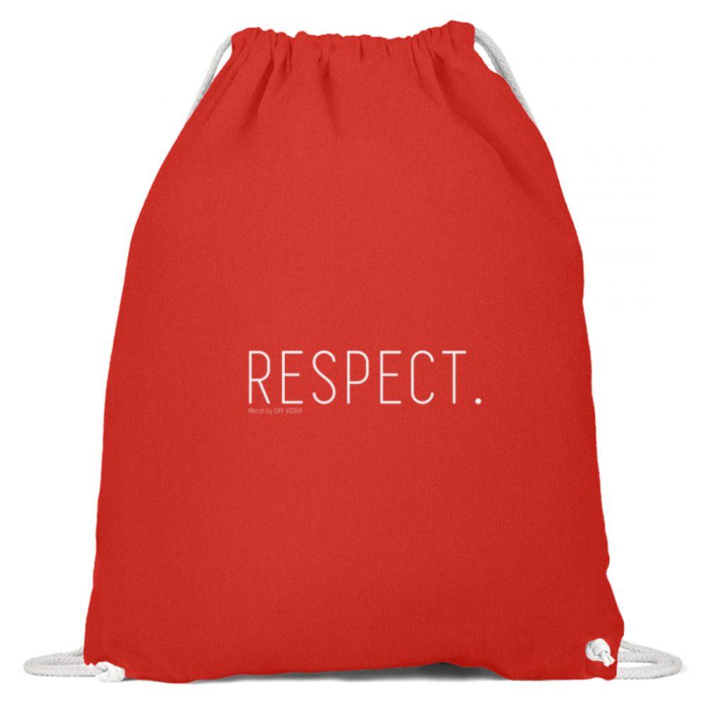 RESPECT. - Baumwoll Gymsac-6230
