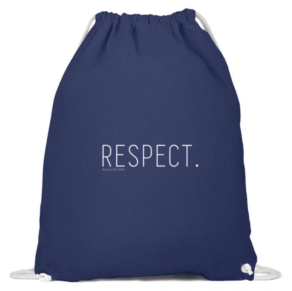RESPECT. - Baumwoll Gymsac-6057