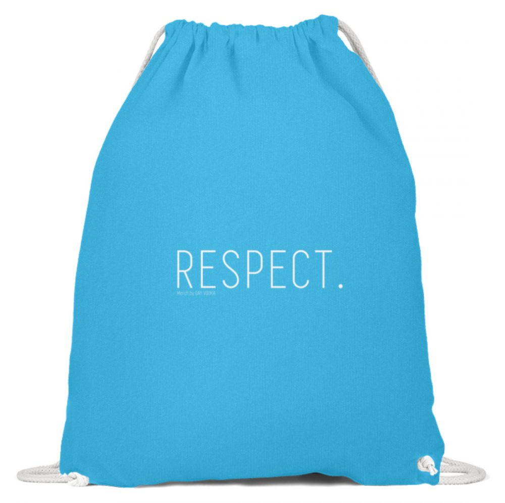 RESPECT. - Baumwoll Gymsac-6242