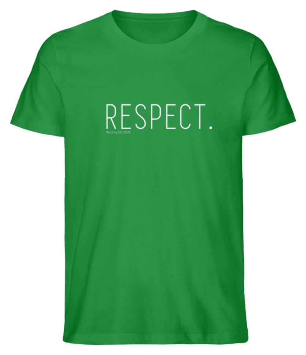 RESPECT. - Herren Premium Organic Shirt-6890