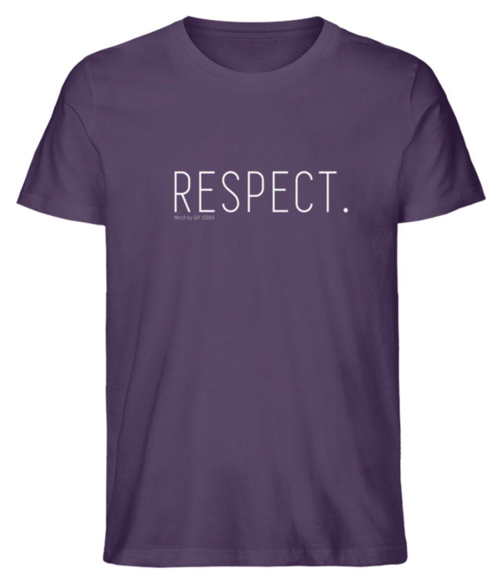 RESPECT. - Herren Premium Organic Shirt-6884