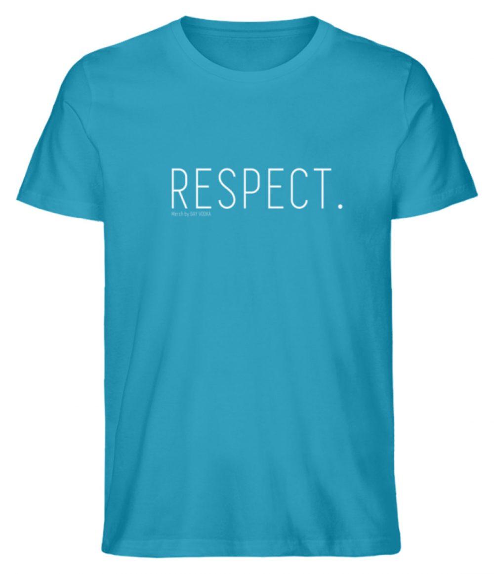 RESPECT. - Herren Premium Organic Shirt-6885