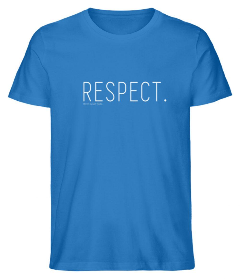 RESPECT. - Herren Premium Organic Shirt-6886