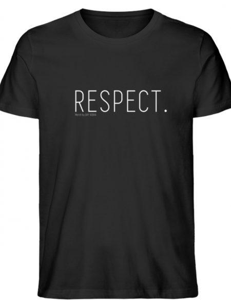 RESPECT. - Herren Premium Organic Shirt-16