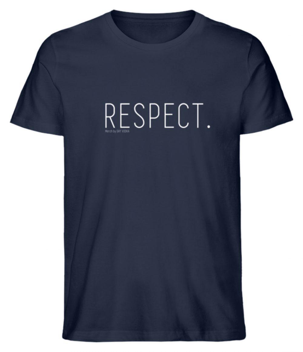 RESPECT. - Herren Premium Organic Shirt-6887