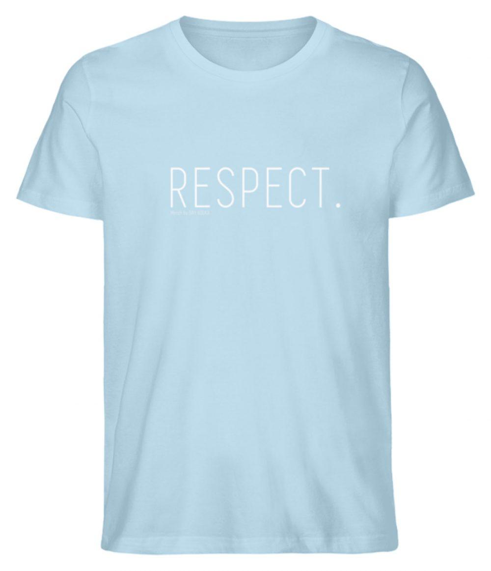 RESPECT. - Herren Premium Organic Shirt-6888