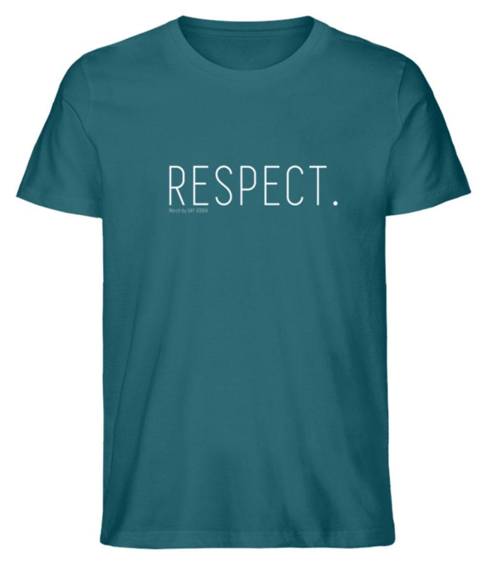 RESPECT. - Herren Premium Organic Shirt-6889
