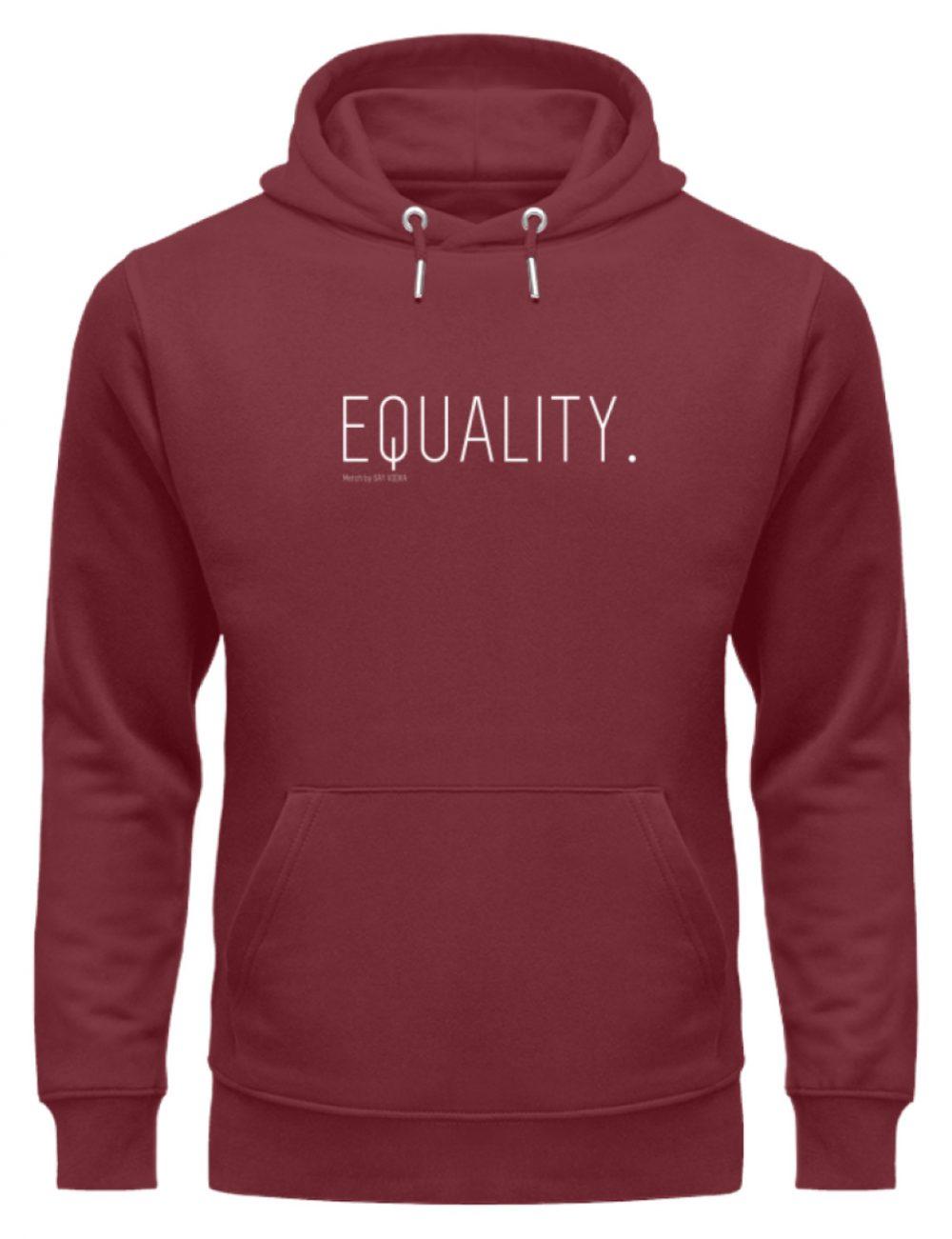 EQUALITY. - Unisex Organic Hoodie-6883