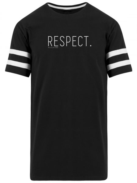 RESPECT. - Striped Long Shirt-16