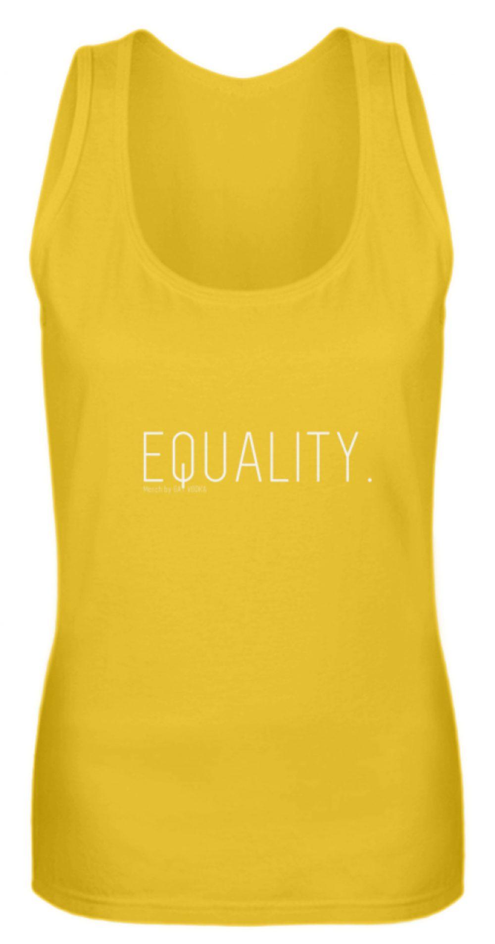 EQUALITY. - Frauen Tanktop-3201