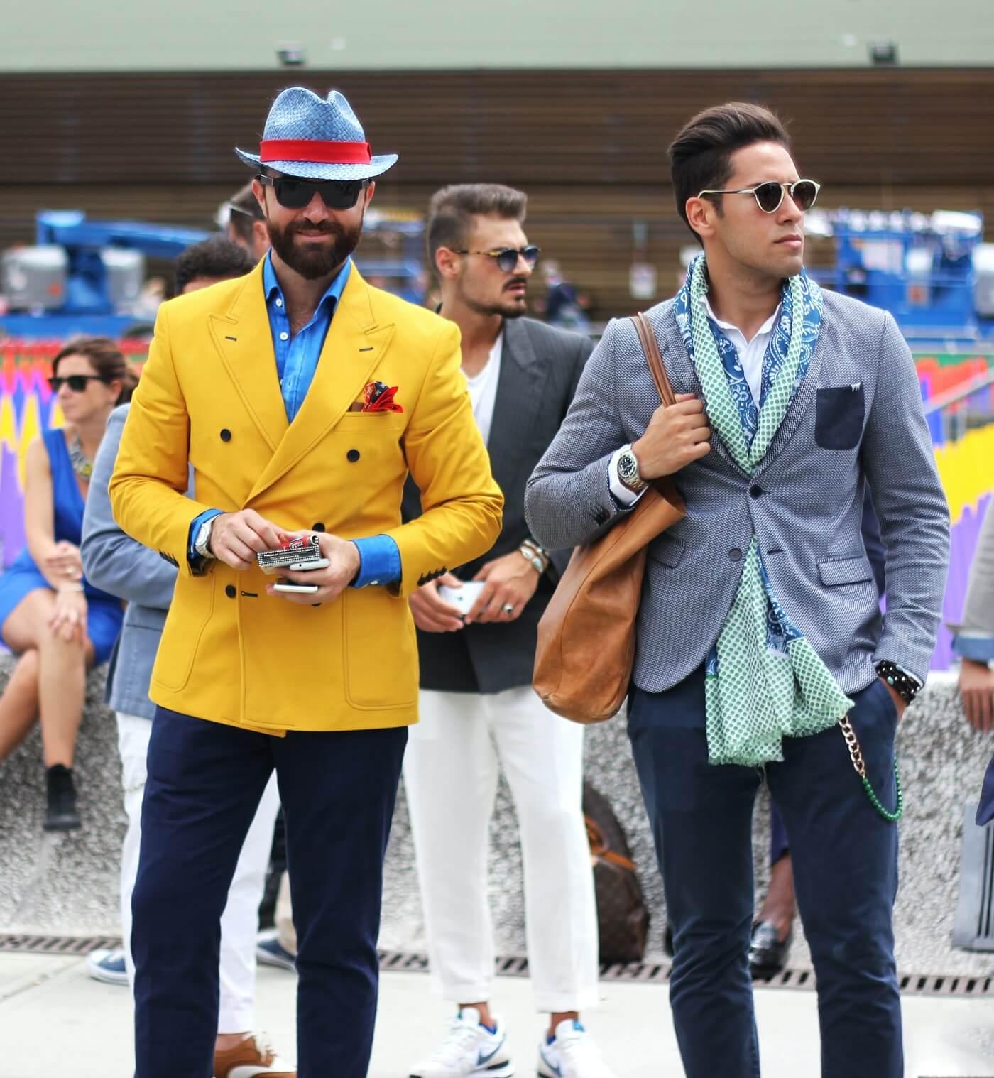 Männer Style mit Sport Sakko Gay Vodka